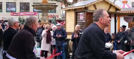 Flashmob auf dem Kohlmarkt