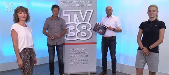 TV38-Mannschaft für #wazbewegt