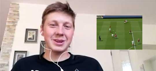 E-Fußballer gibt Statement zu seinem Spiel