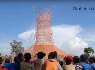 Turm zur Wassergewinnung