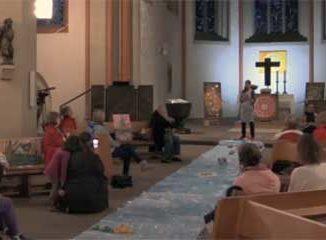 "Finissage ""Kunst küsst Kirche"""