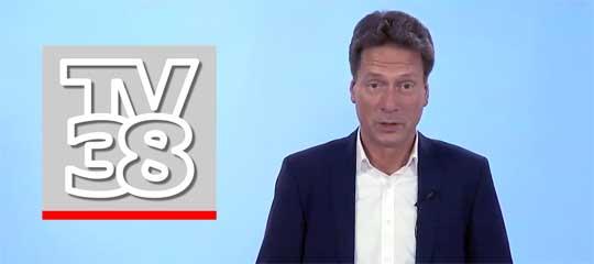 Moderator Fred Bärbock