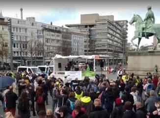 Querdenken-Demo in Braunschweig