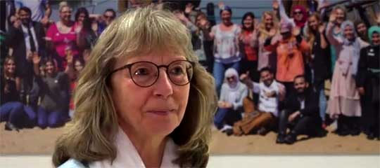Birgit Hynek spricht sich für den Erhalt von TV38 aus
