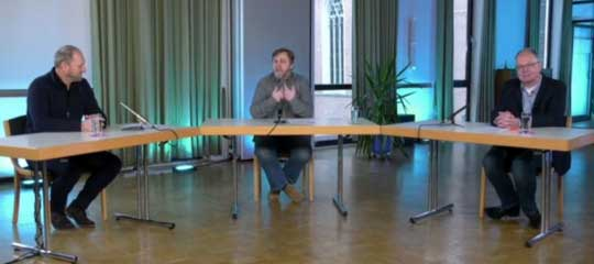 Gespräch mit mit Propst Lars Dedekind und Prof. Dr. Martin Müller