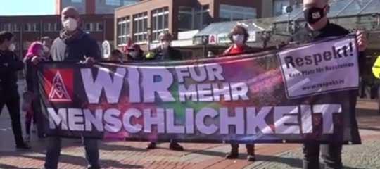 Demo am 8. Mai 2021 in Salzgitter