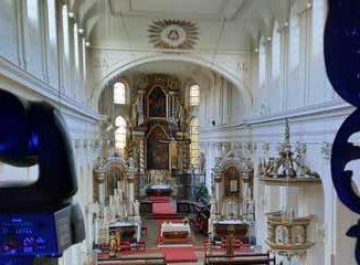 Blick in die Schlosskirche Ringelheim