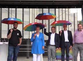 Vorstellung von Oberbürgermeister-Kandidat:innen in Wolfsburg